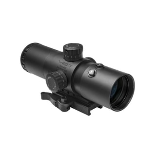 NcStar CBT Series 3.5X40 Prismatic Scope/Red Laser P4 Sniper Reticle