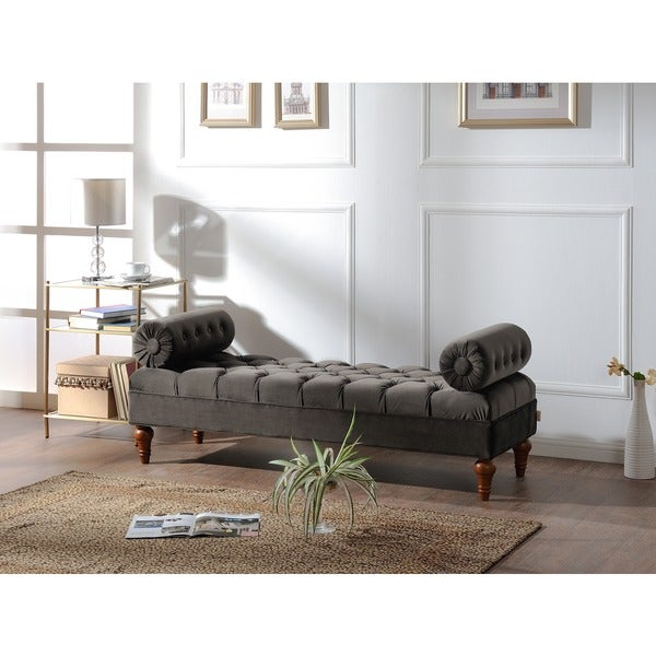 Jennifer Taylor Lewis Bolstered Lounge Entryway Bench