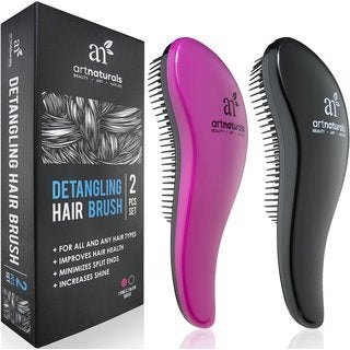 Art Naturals Detangling Hair Brush Set
