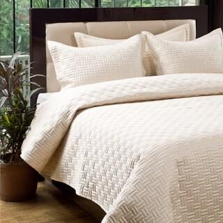 Oxford 3-piece Quilt Set