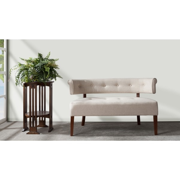 Jennifer Taylor Jared Tufted Bench Settee - Jennifer Taylor Jared Tufted Bench Settee - Free Shipping Today
