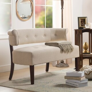 Jennifer Taylor Jared Tufted Bench Settee