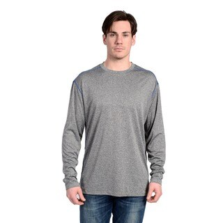 Stanley Men's 100-Percent Cotton Long-Sleeve Crew Neck T-Shirt