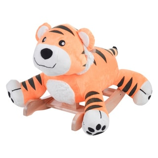 Rockabye Tiggy Tiger Plush Rocker