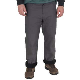 Stanley Men's Basic 5-Pocket Canvas Fleece-Lined Jean|https://ak1.ostkcdn.com/images/products/10813288/P17858162.jpg?impolicy=medium