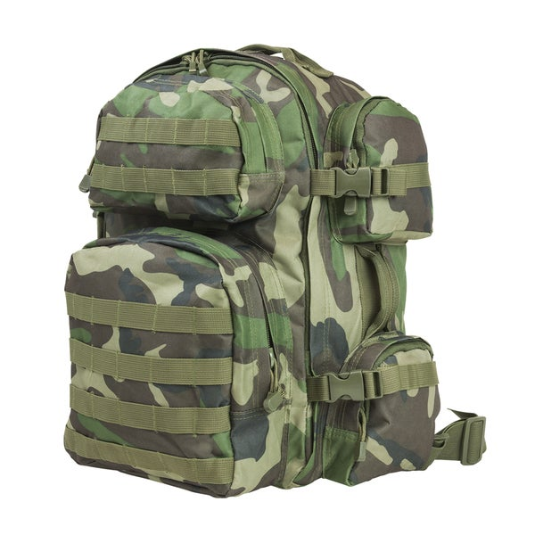 NcStar Tactical Backpack Woodland Camo