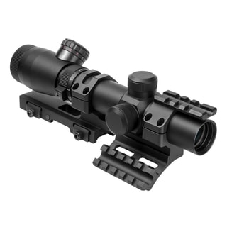 NcStar Shooter I Series 1.1-4X25 Black Scope Mil-Dot, SPR Mount