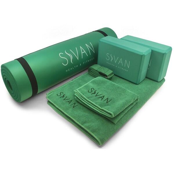 Sivan 6-piece Yoga Kit Green