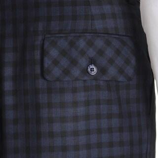 Blu Martini Men's Plaid Dress Pant