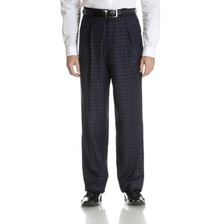 Blu Martini Men's Plaid Dress Pant