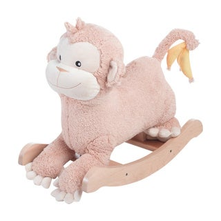 Rockabye Momo the Monkey Plush Rocker