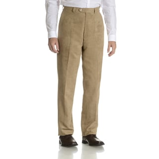 Blu Martini Men's Micro-Polysuede Dress Pant