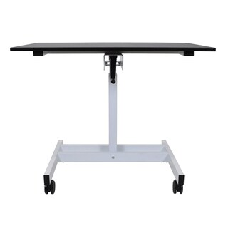 Luxor Single Column Crank Stand-up Desk