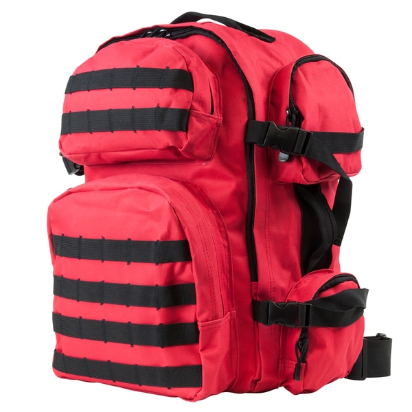 NcStar Tactical Backpack Red w/Black Trim