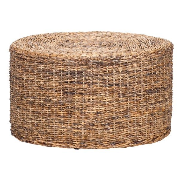 Ira Rattan Round Coffee Table By Kosas Home   Free Shipping Today    Overstock.com   17858417
