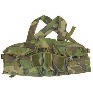 NcStar AK Chest Rig Woodland Camo