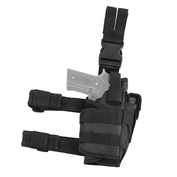 NcStar Vism Drop Leg Tactical Holster - Black