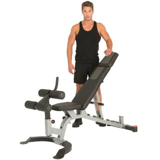 IRONMAN Triathlon X-Class Light Commercial Utility Weight Bench with Detachable Leg Lock Down