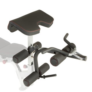 IRONMAN Triathlon X-Class Olympic Preacher Curl and Leg Developer Attachment