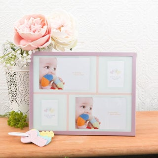 Baby Collage - Pink Picture Frame