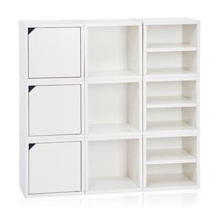 Argyle Eco Stackable 9 Cube Storage System by Way Basics LIFETIME GUARANTEE|https://ak1.ostkcdn.com/images/products/10813642/P17858539.jpg?impolicy=medium