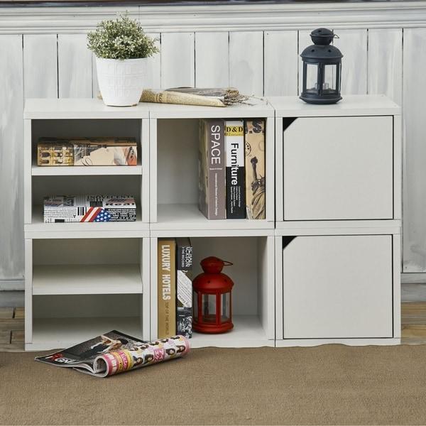Shop Denton Eco Stackable 6 Cube Modular Storage Shelf System ...