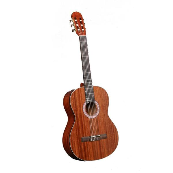 pyle pga33lbr 6 string lefty acoustic electric full scale guitar accessory kit included free. Black Bedroom Furniture Sets. Home Design Ideas