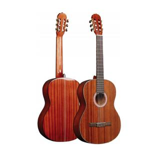 Pyle PGA32RBR 6-String Acoustic Electric Full Scale Wood Finished Guitar (Accessory Kit Included)