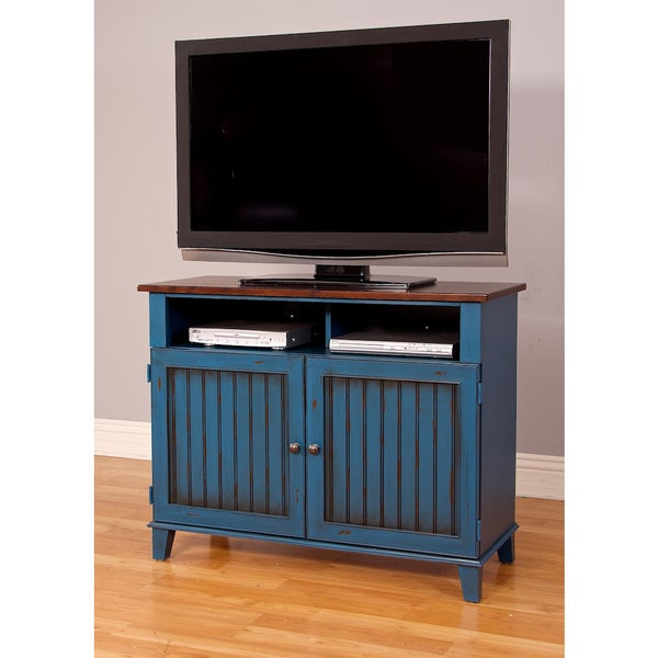 shop easley 42 inch tv stand free shipping today 10813682. Black Bedroom Furniture Sets. Home Design Ideas