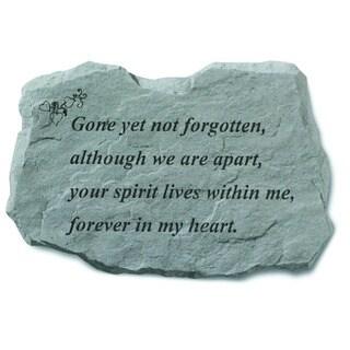 Kay Berry 'Gone Yet Not Forgotten' Garden Accent Stone