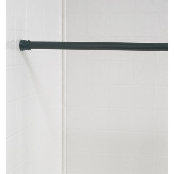 Standard Size Shower Curtain Tension Rod Free