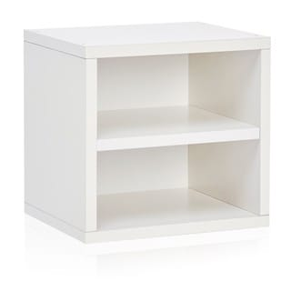 Handmade Weston Eco Friendly Stackable Storage Cube Unit with Shelf LIFETIME WARRANTY (made from sustainable
