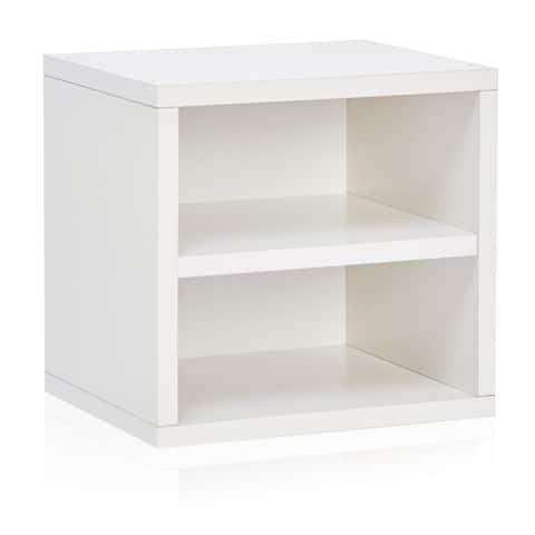 Handmade Weston Stackable Storage Cube Unit with Shelf (Taiwan)