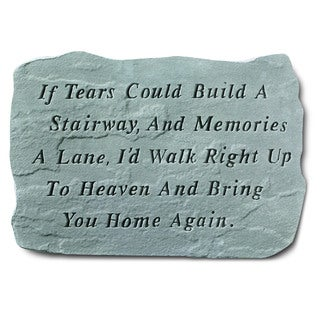 Kay Berry 'If Tears Could Build' Garden Accent Stone