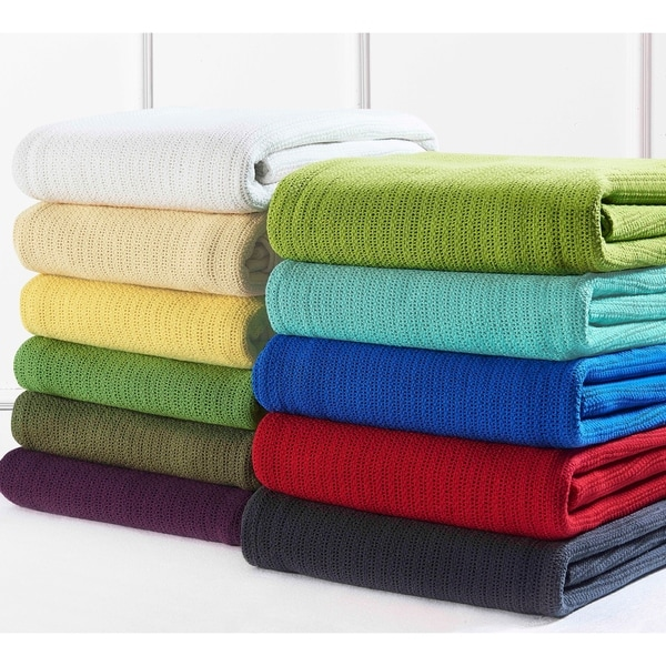 Fiesta Classic Cotton Thermal Blanket