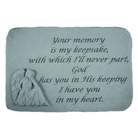 Kay Berry 'Your Memory Is' Garden Accent Stone