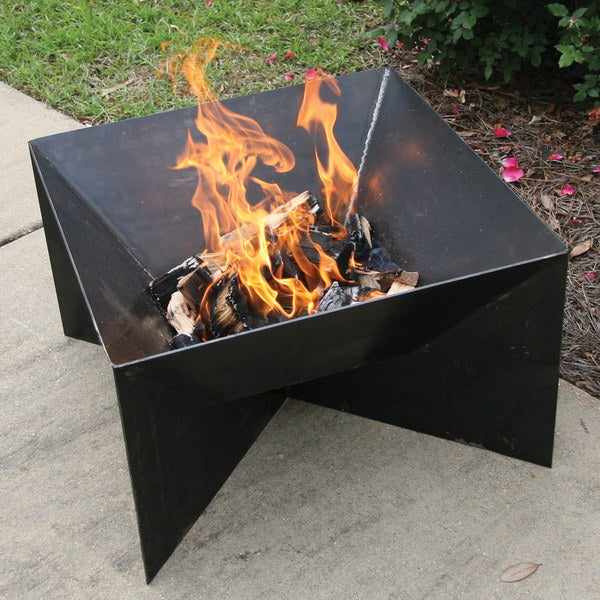 Backyard Bayou Union City Ca: Shop Bayou Classic Heavy Steel 24 Inch Firepit