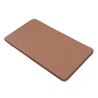 Comfort Co. Anti-Fatigue Kitchen Mat Walnut (2\' x 3\') - Free ...