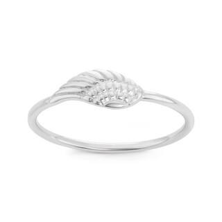 La Preciosa Sterling Silver Angel Wing Ring (3 options available)