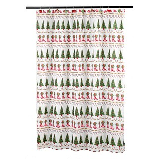 14-piece Holiday Bath Shower Curtain Ensembles
