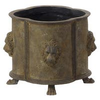 Bombay Outdoors Luxembourg Rustic Brown Planter