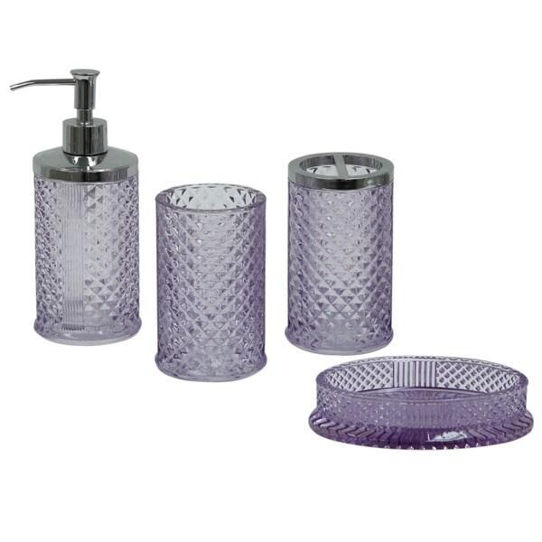 Diamond Bathroom Set 28 Images Amazon Com Diamond Lattice 4pc Bath Accessory Sets Buy