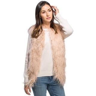 Women's Mogolian Faux Fur Vest