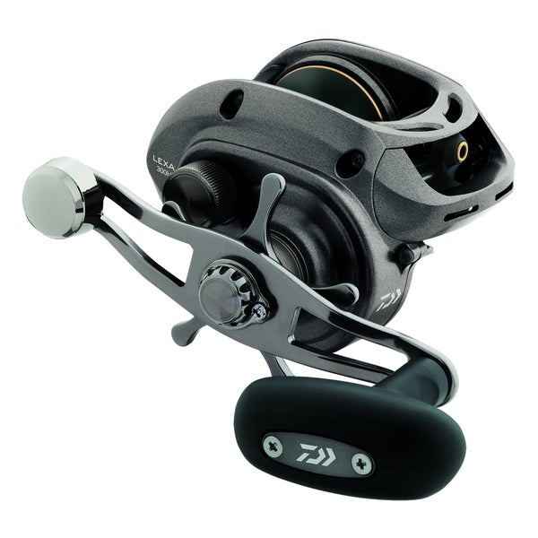 Daiwa Lexa 300 Baitcast Reel with Power Handle