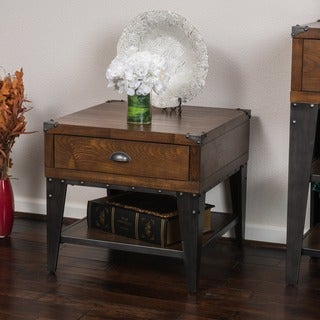Quinn Wood End table by Christopher Knight Home