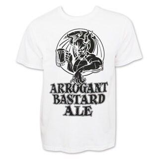 Arrogant Bastard Men's White T-Shirt