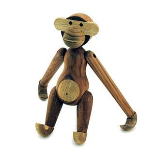 Hans Andersen Home Mid Century Wooden Monkey