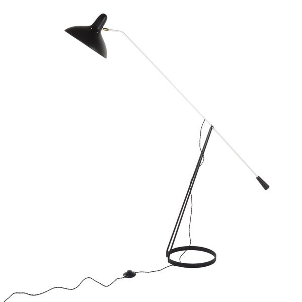 Hans Andersen Home Abello Floor Lamp Black