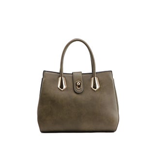 MKF Collection Squared Satchel Handbag by Mia K. Farrow