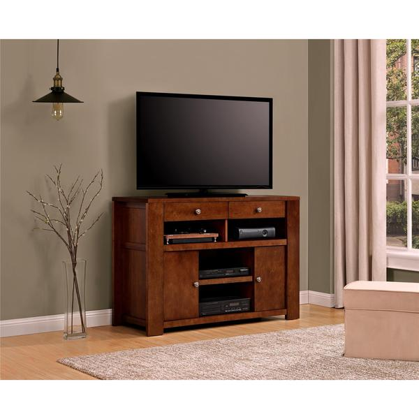 altra vermont farmhouse 50 inch tv stand free shipping today 17858921. Black Bedroom Furniture Sets. Home Design Ideas